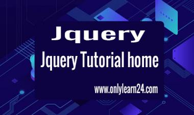 Jquery Tutorial home