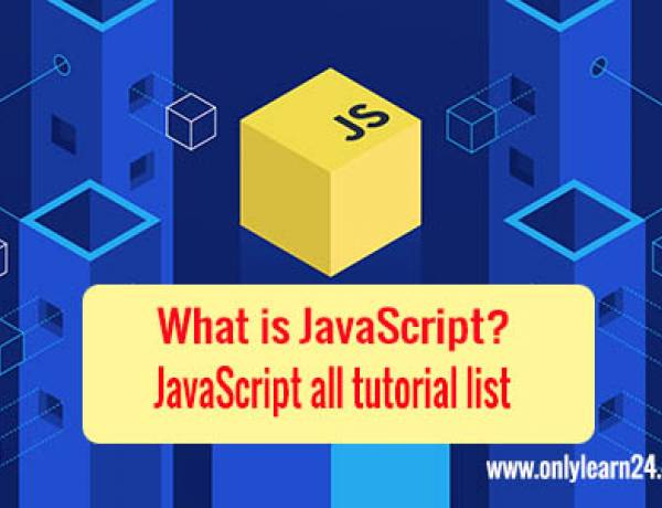 JavaScript all tutorial list