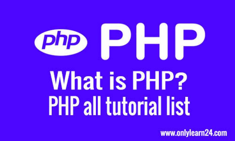 PHP all tutorial list